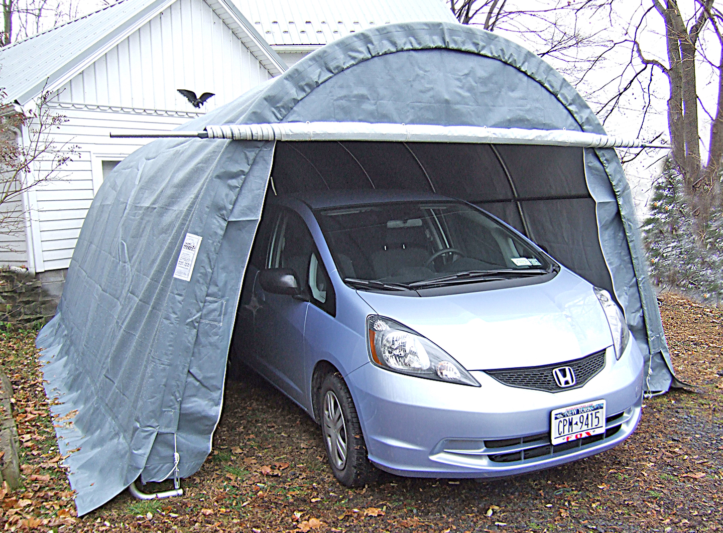 Rhino Shelter Instant Garages – Round Top | Portable ...